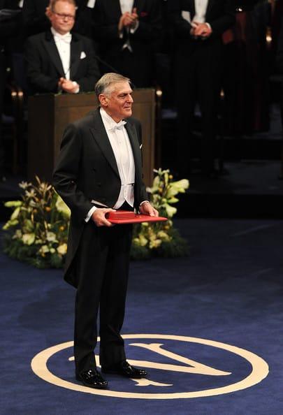 Daniel Shechtman Nobel Prize Award Ceremony 2011