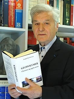Joseph Davidovits and Geopolymer Book